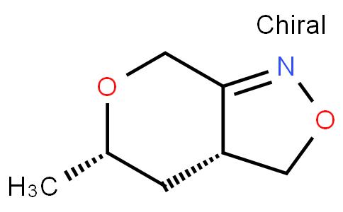 91823 - (3aR,5S)-3a,4,5,7-tetrahydro-5-methyl-3H-pyrano[3,4-c]isoxazole | CAS 1613393-51-3